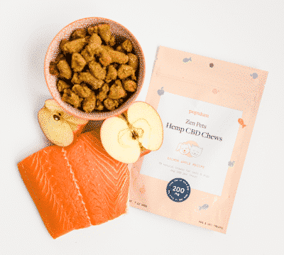 Populum CBD Dog Treats with Salmon Apple