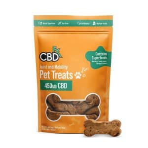 CBDfx CBD Dog Treats for Joint & Mobility Support