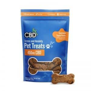 CBDfx CBD Dog Treats for Stress CBD Dog Treats for Anxiety