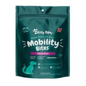 CBDistillery Zesty Paws CBD Dog Joint Supplement Mobility Bites